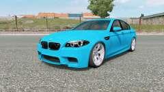 BMW M5 (F10) 2012 v5.0 pour Euro Truck Simulator 2