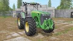 John Deere 8130〡8230〡8330〡8430〡8530 für Farming Simulator 2017