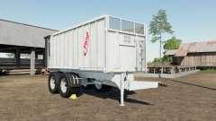 Fliegl TMK 266 Bull gray nurse für Farming Simulator 2017