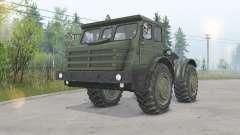 MoAZ-74111 4x4 pour Spin Tires