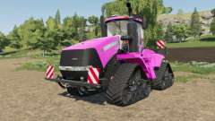 Case IH Steiger Quadtrac in color pink pour Farming Simulator 2017