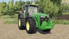 John Deere 8R-series with SeatCam pour Farming Simulator 2017