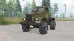 GAZ-63 Gassaver für Spin Tires