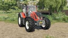 Fendt 700 Vario added colour choice pour Farming Simulator 2017