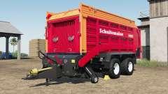 Schuitemaker Rapide 580V increased capacity für Farming Simulator 2017