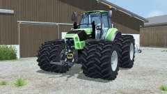 Deutz-Fahr 7250 TTV Agrotron dual wheels für Farming Simulator 2013