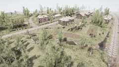 Le village et l'Oural grèbe 2 pour MudRunner