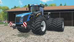 New Holland T9.565 dual rear wheels pour Farming Simulator 2015