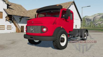 Mercedes-Benz L 1519 carmine red für Farming Simulator 2017