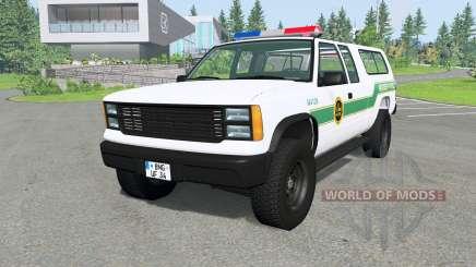 Gavril D-Series U.S. Border Patrol v2.1 für BeamNG Drive