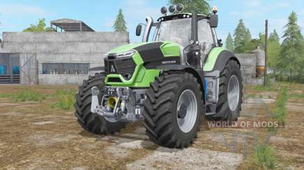 Deutz-Fahr 9-series added light sources pour Farming Simulator 2017