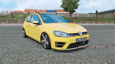 Volkswagen Golf R-Line (Typ 5G) 2013 v1.5 pour Euro Truck Simulator 2