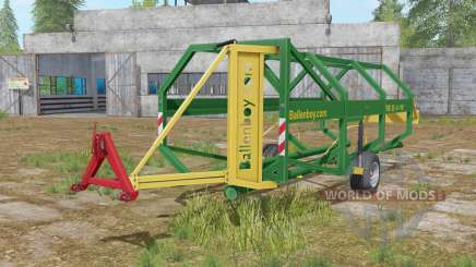 Ballenboy FSB 25-6-110 dartmouth green pour Farming Simulator 2017
