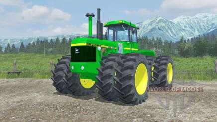 John Deere 8440 moving parts interior für Farming Simulator 2013