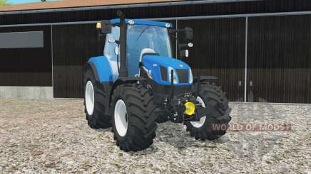New Holland T6.160 gloss entfert completely für Farming Simulator 2015
