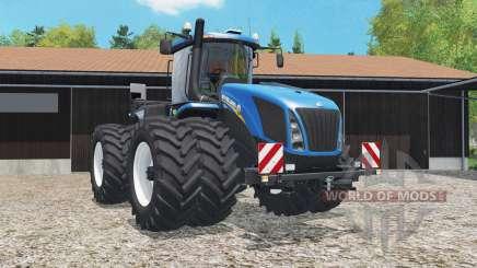 New Holland T9.565 added dual wheels pour Farming Simulator 2015