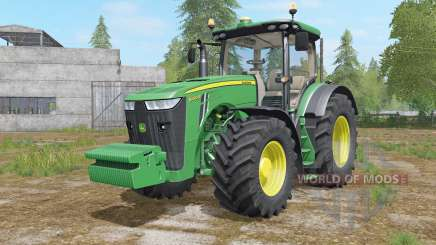 John Deere 8320R&8370R pour Farming Simulator 2017