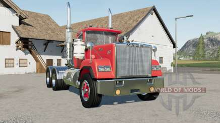 Mack Super-Liner Day Cab 1980-s pour Farming Simulator 2017