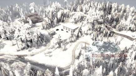 Kamjanka winter für MudRunner