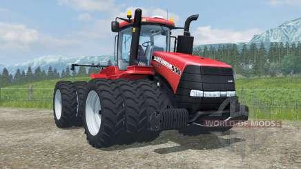 Case IH Steiger 500 triples row crop für Farming Simulator 2013
