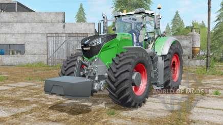 Fendt 1000 Vario with weight für Farming Simulator 2017