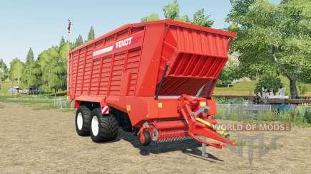Fendt Tigo XR 75 D capacity 50000 liters für Farming Simulator 2017