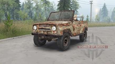 UAZ-469 S. T. A. L. K. E. R. pour Spin Tires
