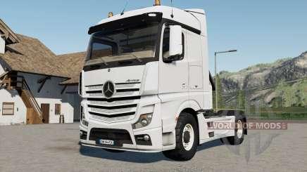 Mercedes-Benz Actros (MP4) 4x4 für Farming Simulator 2017