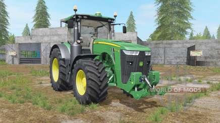 John Deere 8R-series hydraulics&weight pour Farming Simulator 2017