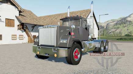 Mack Super-Liner Day Cab more options pour Farming Simulator 2017