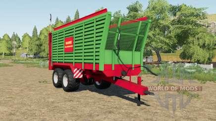 Hawe SLW 45 silage trailer für Farming Simulator 2017