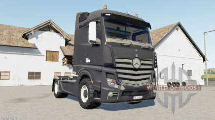 Mercedes-Benz Actros (MP4) davys grey pour Farming Simulator 2017