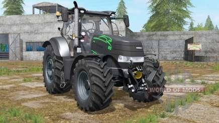 Case IH Puma 185〡200〡240 CVX Schwarz Pantheᶉ für Farming Simulator 2017