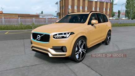 Volvo XC90 T8 2016 indian yellow pour Euro Truck Simulator 2