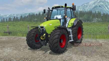 Hurlimann XL 130 dans le vert pour Farming Simulator 2013