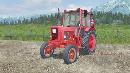 MTZ-80 Belarus mit manueller Zündung für Farming Simulator 2013