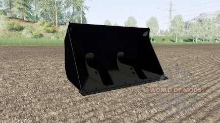 Seau avec un grand volume pour Farming Simulator 2017