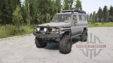 Toyota Land Cruiser Troop Carrier (J75) surge pour MudRunner