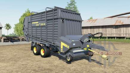 Strautmann Zelon CFS 2501 DO capacity increased für Farming Simulator 2017