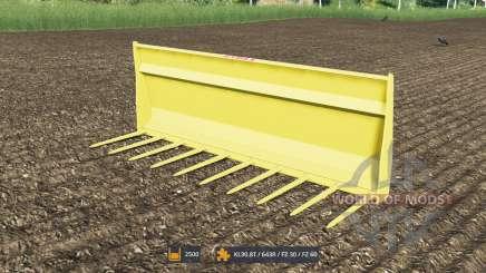 Gabeln für Mist mit einem großen Volumen für Farming Simulator 2017