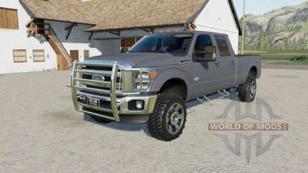 Ford F-350 Super Duty Crew Cab 2011 more power pour Farming Simulator 2017