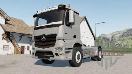 Mercedes-Benz Antos 3245 für Farming Simulator 2017