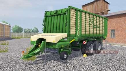 Krone ZX 450 GD la salle green pour Farming Simulator 2013