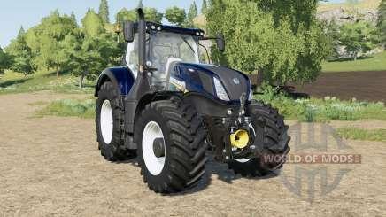 New Holland T7-series Blue Power Chrome pour Farming Simulator 2017