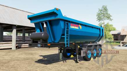 Schmitz Cargobull S.KI rich electric blue für Farming Simulator 2017