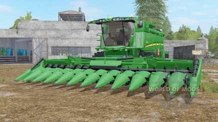 John Deere S690i real textures pour Farming Simulator 2017