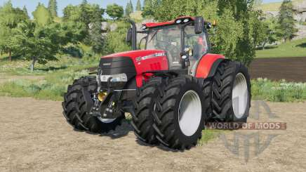 Case IH tractors with added Row Crop wheels pour Farming Simulator 2017