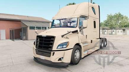 Freightliner Cascadia almond für American Truck Simulator