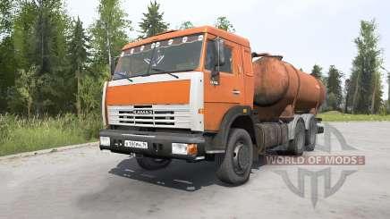 KamAZ-53215 Flusher KO-505A pour MudRunner