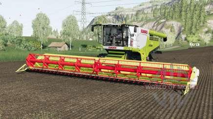 Claas Lexion 780 and Vario 1200 pour Farming Simulator 2017